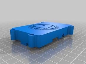 Raspberry Pi B+ case ghostly style