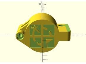 Geocaching PET padlock / cadenas pour préforme PET geocache