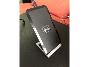 Wireless charger stand for smartphone
