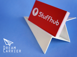 Dream Carrier_Paper Plane Business Card Holder