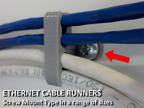 Ethernet Cable Runners - Screw Mount Type