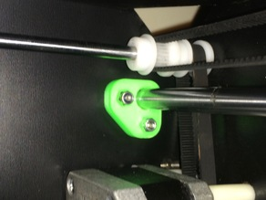 CTC/FlashForge Creator Y-Axis guide rod supports