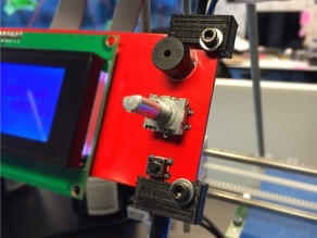 LCD holders for RepRapPro Huxley
