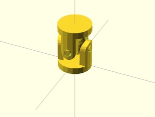 OpenSCAD U-Joint Library