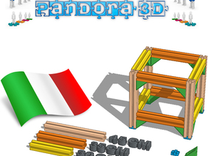 Pandora 3D - progetto open source made in Italy