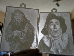 Wizard of Oz Lithopanes
