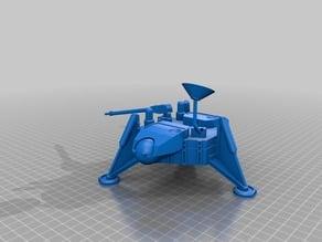 3DBear Mars Lander - a Nasa Viking lander remix