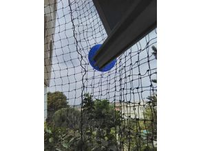 Cat Safety Net Tent End Cap