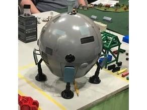 BattleTech Union Dropship Mech Scale