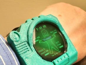 Pipboy3000 mod for Moto360