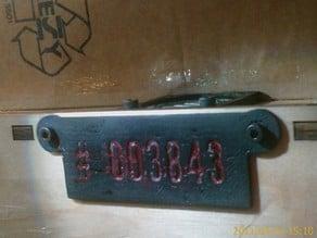 MakerBot Thing o Magic Serial number