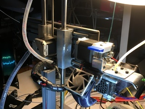 The Chimeric Printrbot Simple Metal: A complete dual extruder upgrade using E3D's Chimera compact dual v6 system