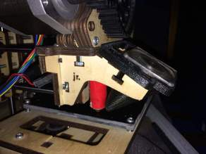 Printrbot JR 1307 Fan Shroud & Mount