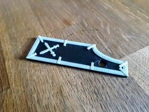Wargaming Combat Gauge Tool Ruler