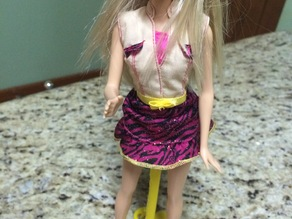 Suport for Barbie (Suporte para barbie)