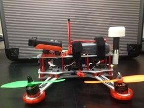 Mobius Cam mount for ZMR250 Flat + 10Deg