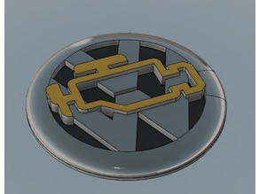 VW Emblem (fixed to fit older models better)