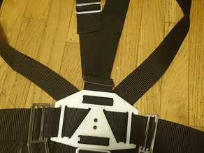 Sidemount backplates (lumbar and dorsal)