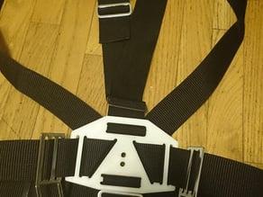 Sidemount backplates (lumbar and dorsal)