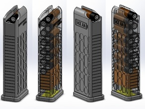 BatteryMag - 14x AA Dispenser