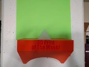 3D Print of The Week! Tetrahedron