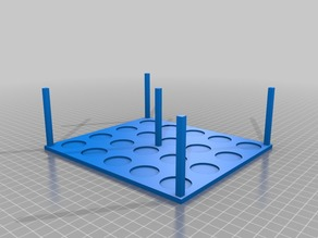 Stackable Miniature Stand