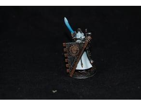 Adeptus Mechanicus style shield