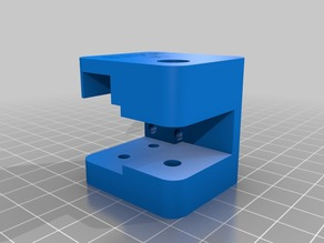 D9 X Axis Idler Bracket,  works on stock printer or with MGN12 Rails