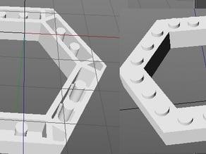 Lego Hex Brick / Plate Model 3