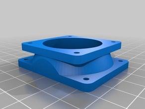 50x40 Fan Adapter in several styles w/scad files