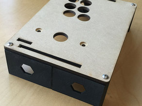 Simple arcade stick sides