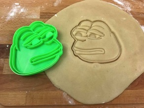 Pepe The Frog Cookie Cutter
