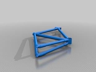 Full frame bike with lugs