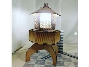 lampshade mdf