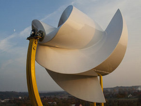 Effective wind turbine