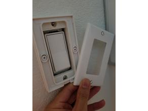 "Philips Hue Dimmer Switch Plate Adapter for US 4.5""x2.75"" Switches"
