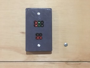 Anderson/Powerpole wall plate