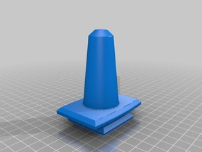 Conical wig head holder for camera tripod insert