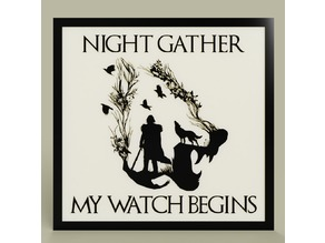 Game of Throne - Jon Snow - Night Gather