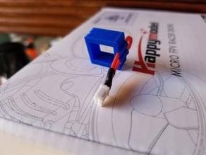 Mobula7 battery mount with 1S jumper holder V1