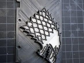 FlashForge Blank Backplate - Custom Backplates!