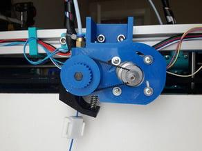 Rabbit Extruder (Tavşan ekstruder) with press-idler system