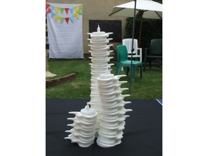 Spine Candle Holder by cbabbage Remix