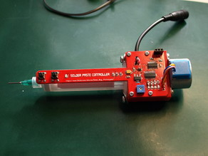 Solder paste dispenser - 3D parts