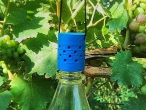 Flytrap for fruitfly PET screwable / Fruchtfliegen- Essigfliegen- KEF-Falle