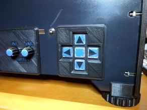CTC, Flashforge Tastatur Frontblende / Keyboard Cover