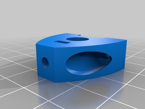 Opto-endstop mounting for 8mm shafts