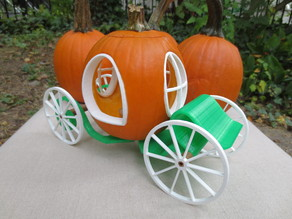 Enchanted Pumpkin Carriage