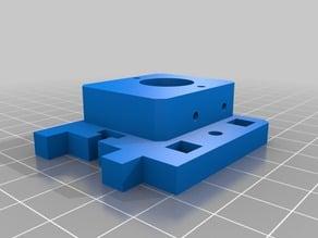 Printerbot Jr. V2 Bowden adapter plate V1.0