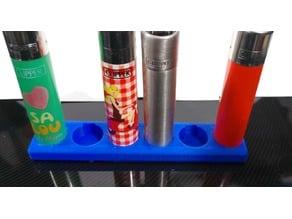 Clipper lighter stand